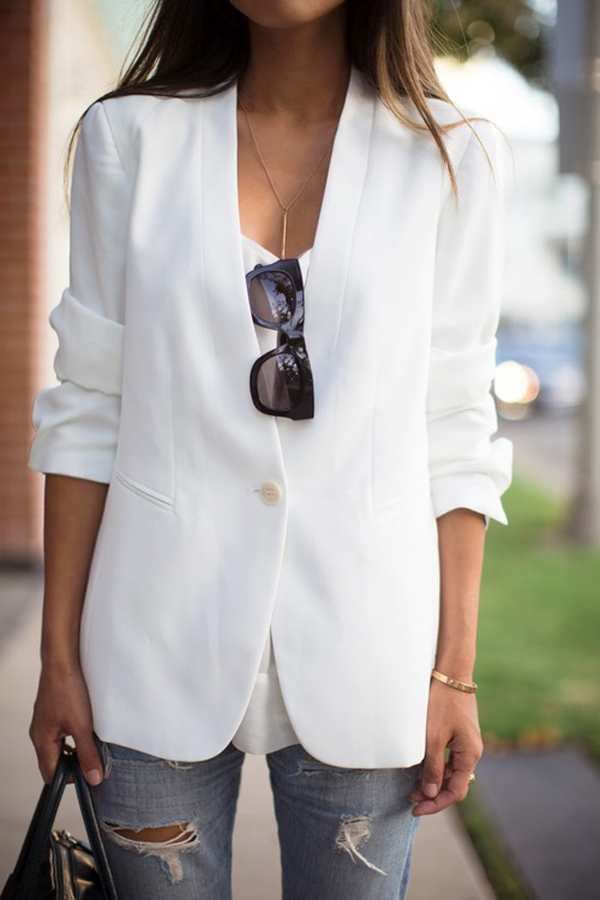 white-blazer